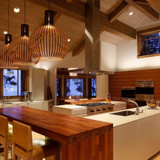 Contemporary Kitchen by HELIUS Lighting Group