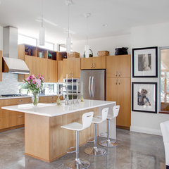 modern kitchen by Kailey J. Flynn Photography