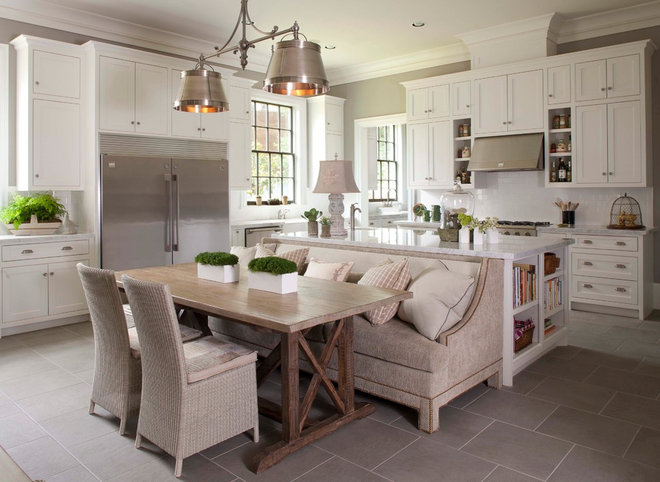 Traditional Kitchen by Hann Builders
