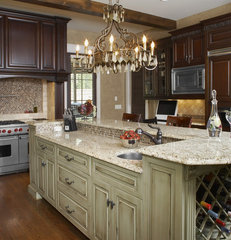 traditional kitchen by The Furniture Guild