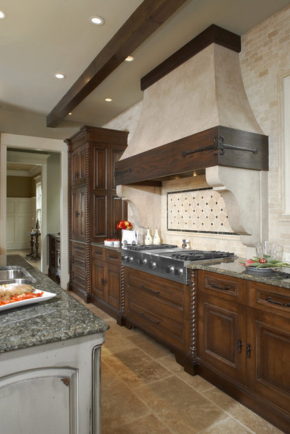 Rustic Kitchen by The Furniture Guild
