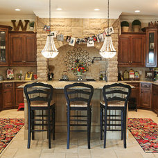 eclectic kitchen by Julie Ranee Photography