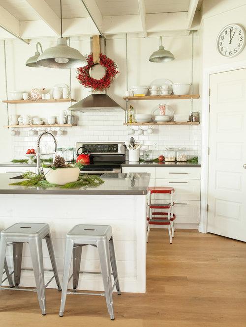 open shelving range hood home design ideas pictures