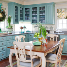 Farmhouse Kitchen by Tobi Fairley Interior Design