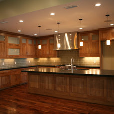 Contemporary Kitchen by Leslie Schofield Design