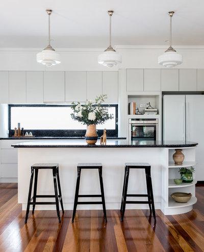 Arts Crafts Kitchen By Designtank