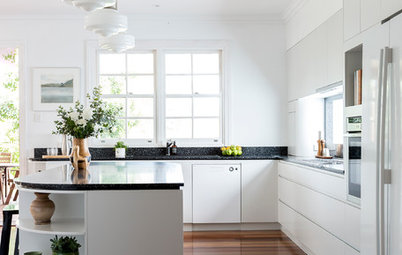 Room of the Week: An Affordable Art Deco-Inspired Kitchen