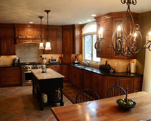 Holland Remodel Verona cabinetry in Maple Caramel ...