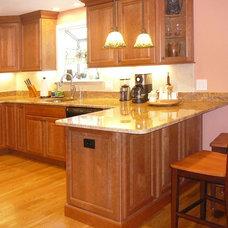 Traditional Kitchen Holliston, MA Kitchen