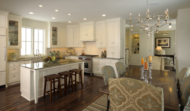 Eclectic Kitchen by Interiors By Holly
