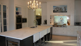 Hollywood Glam inspired Kitchen in Montgomery, AL