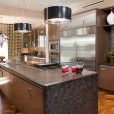 Contemporary Kitchen by Lori Gentile Interior Design