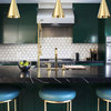 Metallic Details Bring a Warm Glow to Your Kitchen