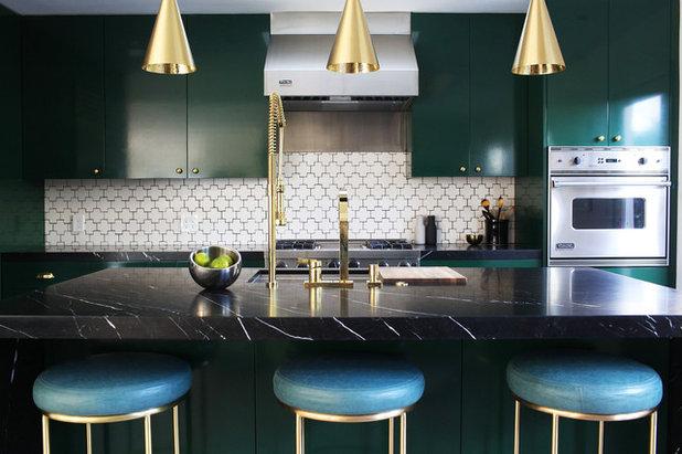 11 Ideen, wie Sie Ihre Küche grün gestalten