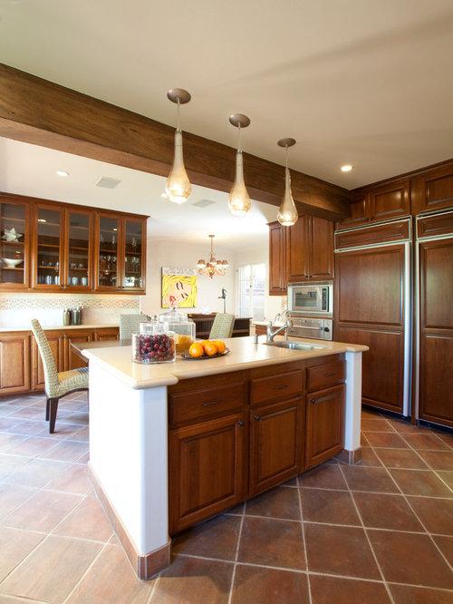 Cabinet Panel Refrigerator Houzz