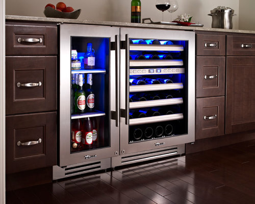 Wine and beer fridge home design ideas pictures remodel for Kitchen 24 west hollywood