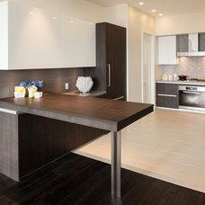 Contemporary Kitchen by Susan Manrao Design
