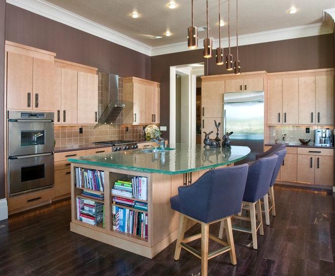 Contemporary Kitchen by Peg Berens Interior Design LLC