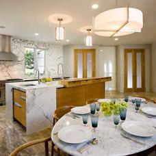 Midcentury Kitchen by Maienza - Wilson Interior Design + Architecture