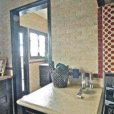Mediterranean Kitchen by Brenda Olde