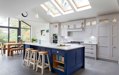 You-tell-us Trends: Blue Kitchens