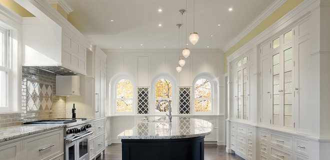 Traditional Kitchen by Homes By Architects Tour