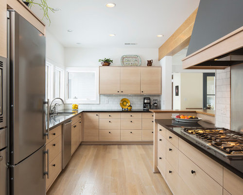 kitchen light wood cabinets light wood cabinets houzz 5347