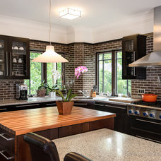 Eclectic Kitchen by Kate Benjamin Photography LLC