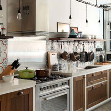 Kitchen Tour: Transnational Family's Eclectic Country-Style