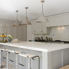 Transitional Kitchen by 50 Degrees North Architects