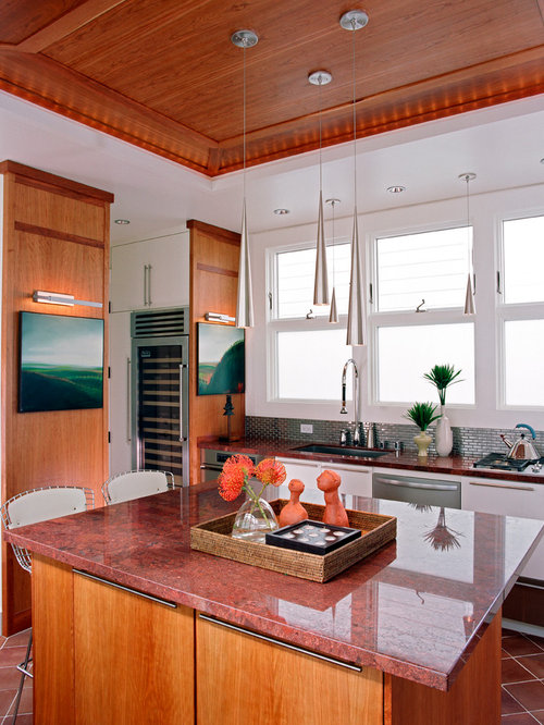 Red Granite Countertops | Houzz