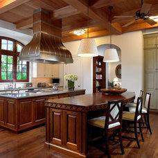 Traditional Kitchen by Edward Lobrano Interior Design Inc.