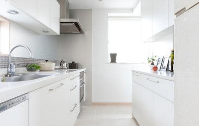 今週の部屋:家族の通り道、光あふれるシンプルキッチン