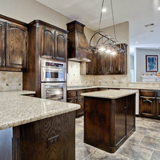 Traditional Kitchen by DFW Improved