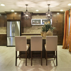Traditional Kitchen by Kitchen & Bath Design by Acadian House