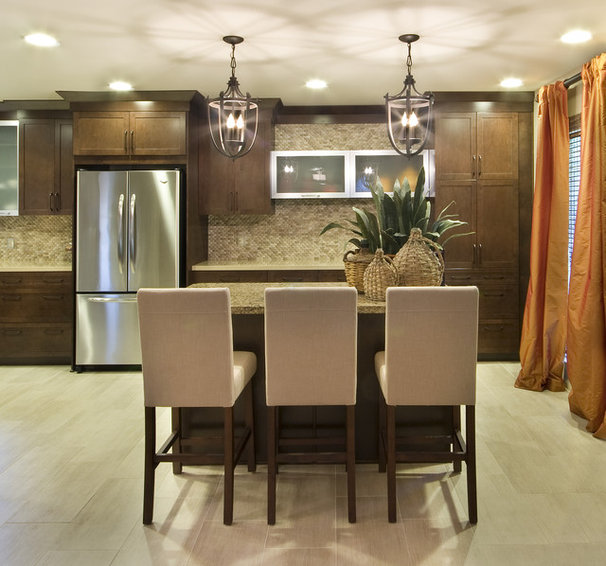 Traditional Kitchen by Acadian House Kitchen and Bath Design