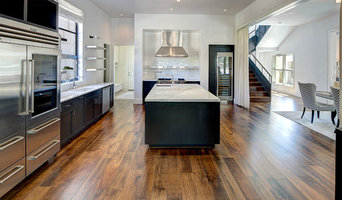 Austin Hardwood Flooring eaglet beige kitchen traditional with stained cabinets austin hardwood flooring professionals Contact Soleil Floors