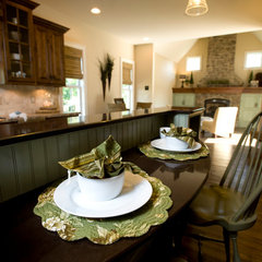 traditional kitchen by Smarr Custom Homes