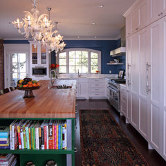 eclectic kitchen by O Interior Design
