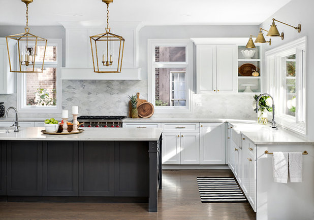 Transitional Kitchen by Picture Perfect House