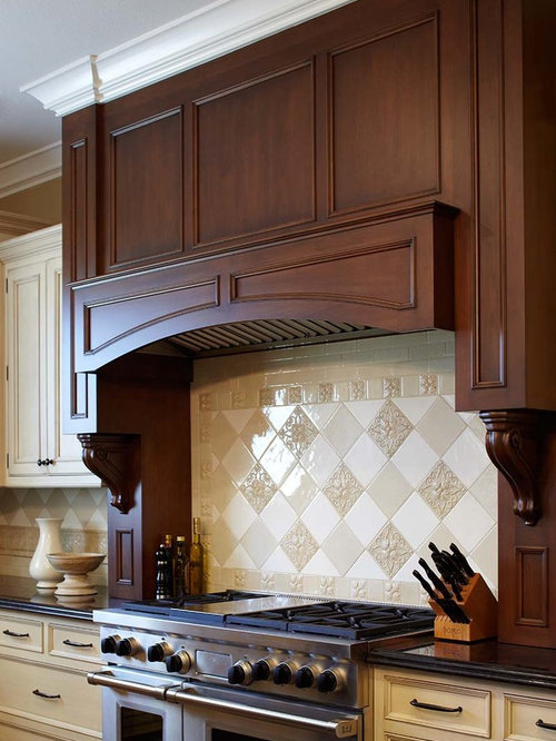 Custom Wood Range Hood Home Design Ideas, Pictures, Remodel and Decor
