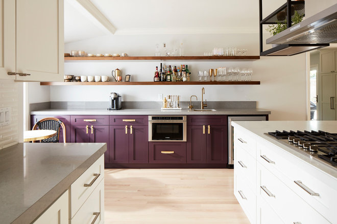 Contemporary Kitchen by J NORD WOLFE General Contracting Inc.