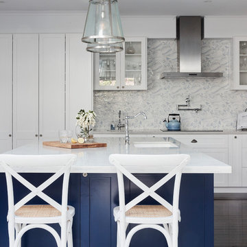 Home Renovation in North Sydney Features Athena in Hamptons-Style Kitchen