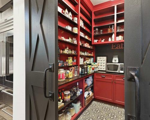 Landhausstil Küchen mit Vorratsschrank Ideen, Design & Bilder | Houzz