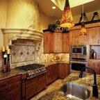 Waterview Home Mediterranean Kitchen Dallas By