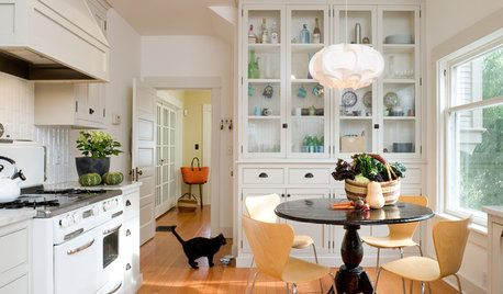 9 Ideas for That Spare Wall in the Kitchen