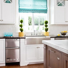 traditional kitchen by Homescapes Design
