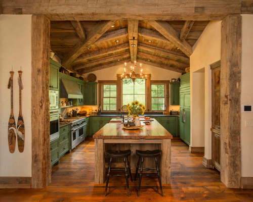 Rustic Wood Trim Home Design Ideas Pictures Remodel And