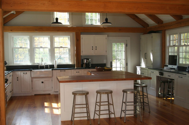 Farmhouse Kitchen by Howe Lumber Company