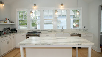 Honed Marble Kitchen Countertops